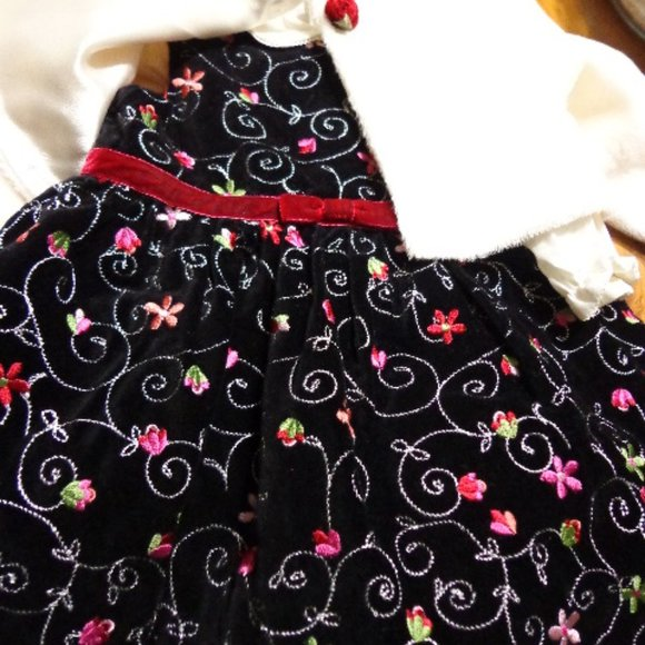 The Childrens Place 4 pc Dress Bottoms Set 12 Mos.
